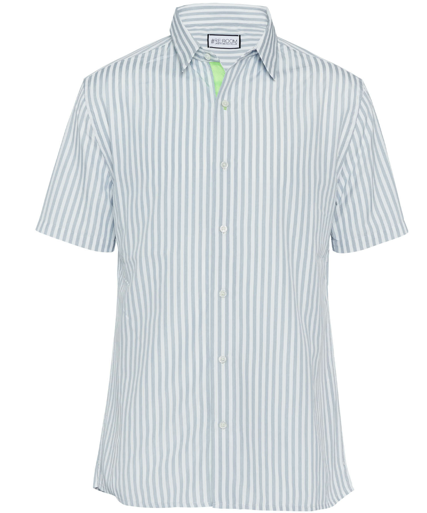 PLAIN STRIPE SHORT SLEEVE SHIRTS[RUS001]