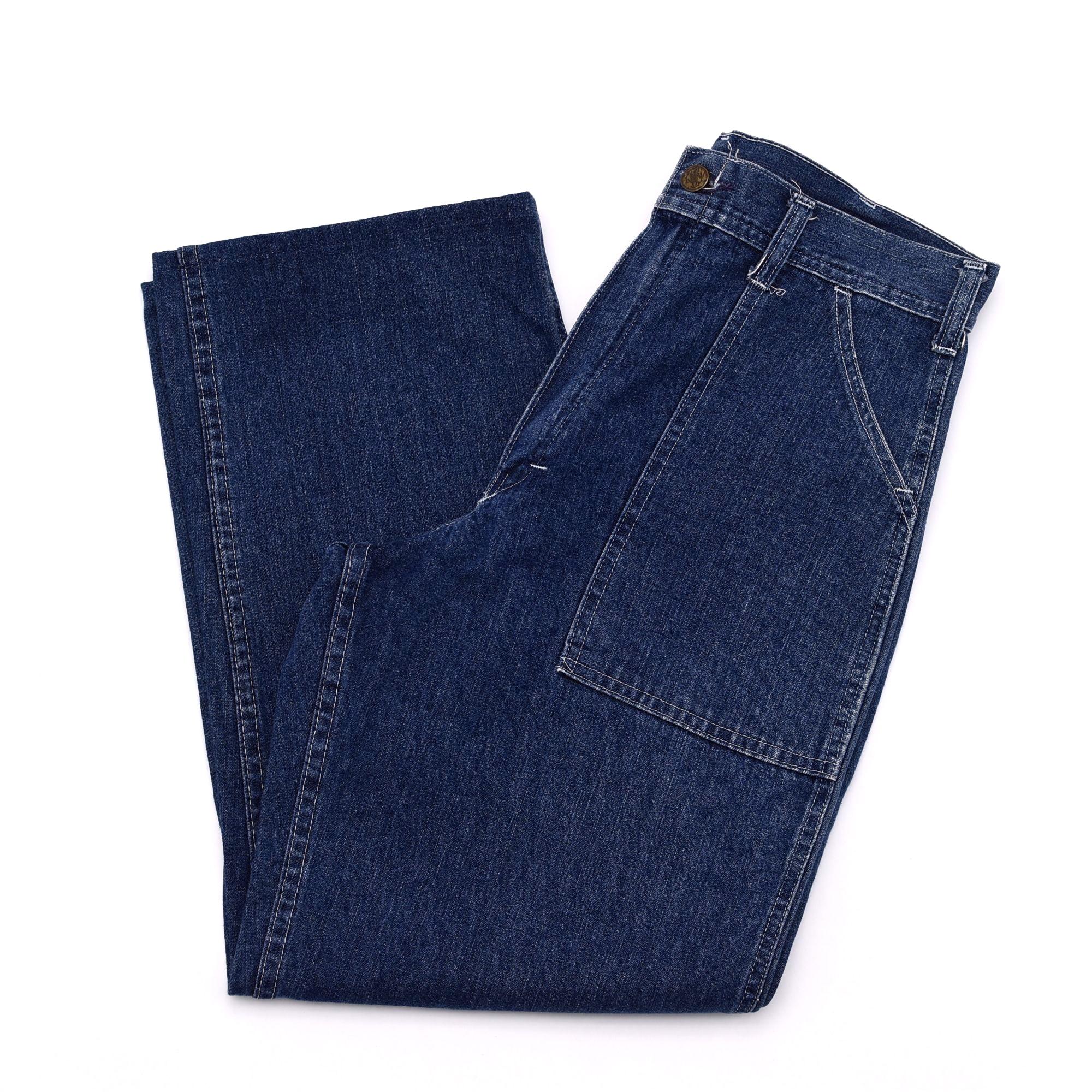 90's GUNG HO denim baker pants Made in USA