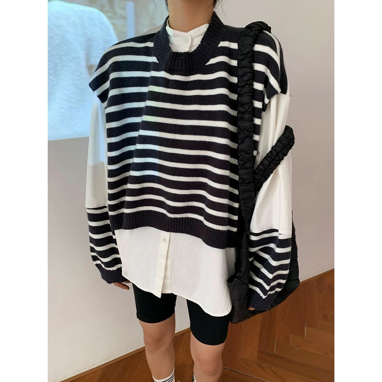 border knit shirt