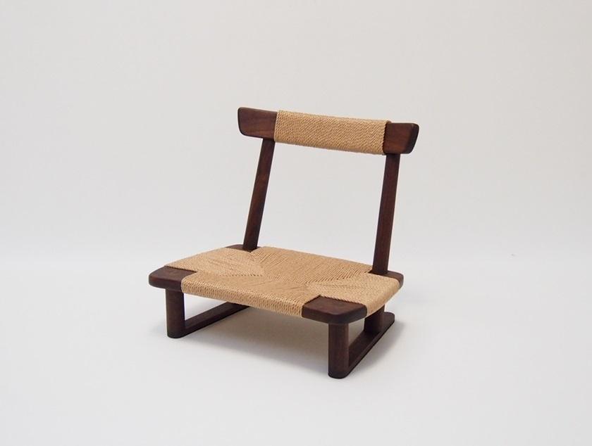 座椅子|SK座椅子 ウォールナット材