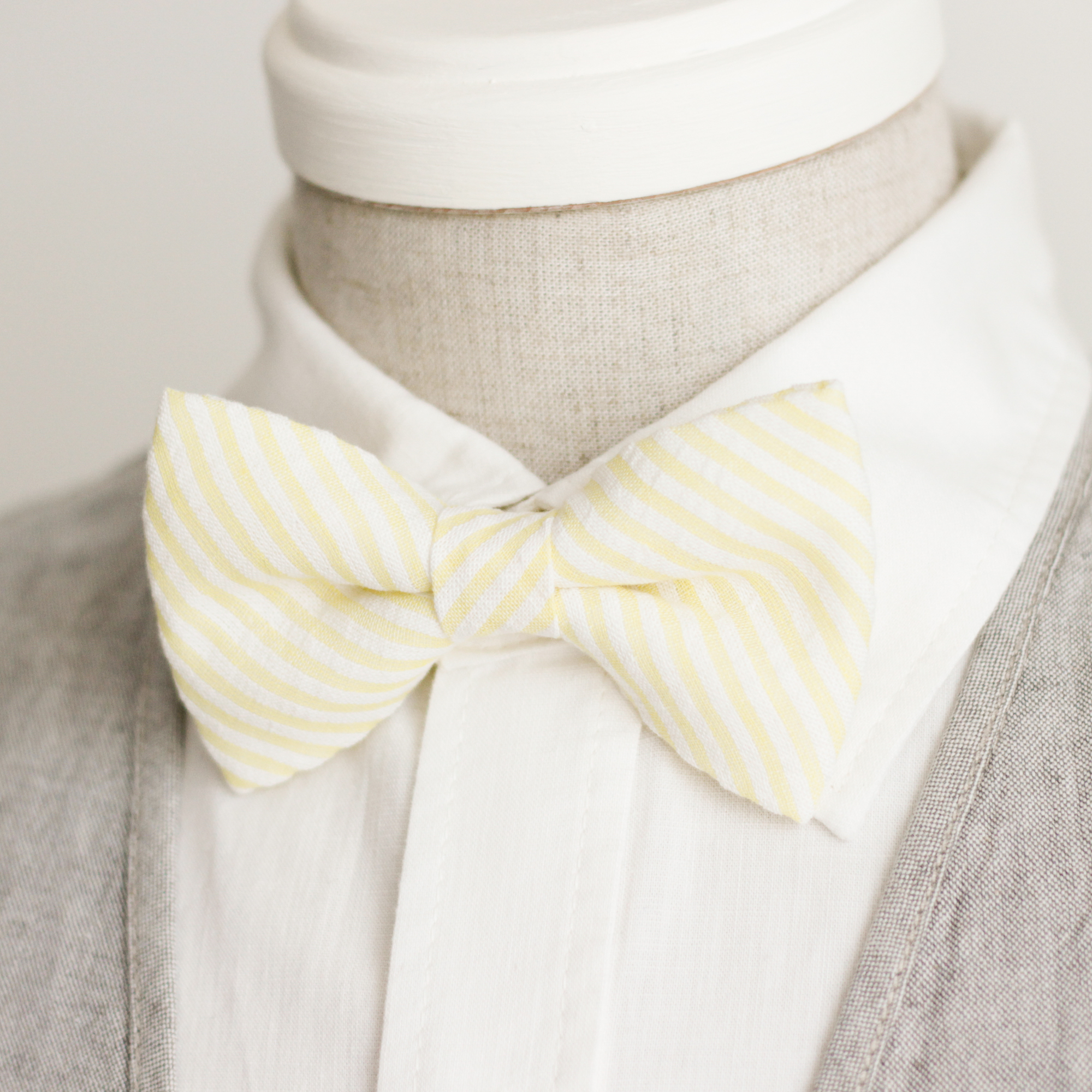 Bow tie Seersucker