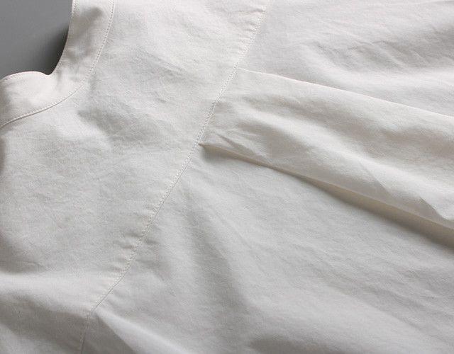 ウエストマークシャツワンピース