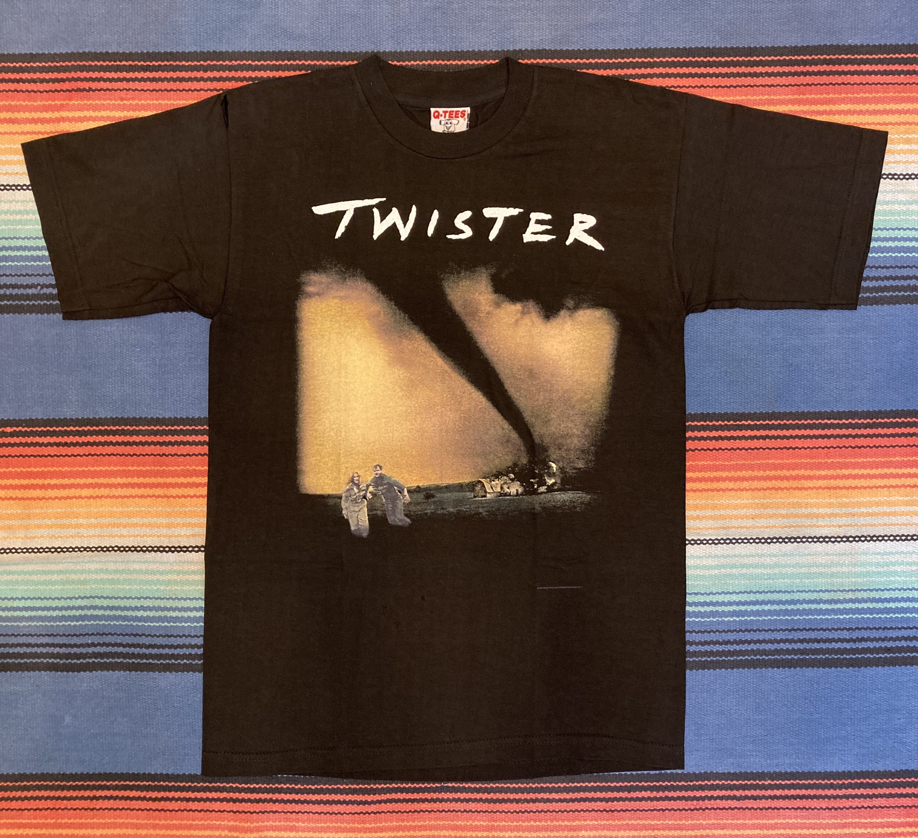"""""""NOS"""" TWISTER Print Tee <MADE IN USA>"""