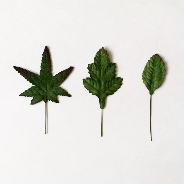 造花の葉っぱ Artificial Leaves