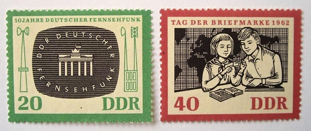 切手の日 / 東ドイツ 1962