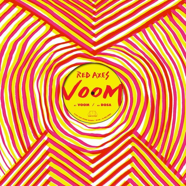 """RED AXES - Voom (12"""")"""