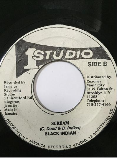 Black Indian(ブラックインディアン) - Scream【7'】