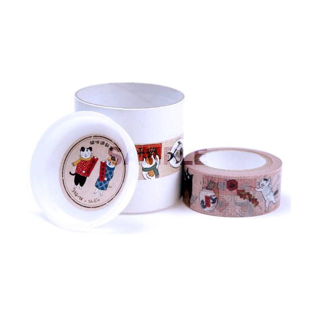 猫小姐-マスキングテープ 「過新年紙膠帶」