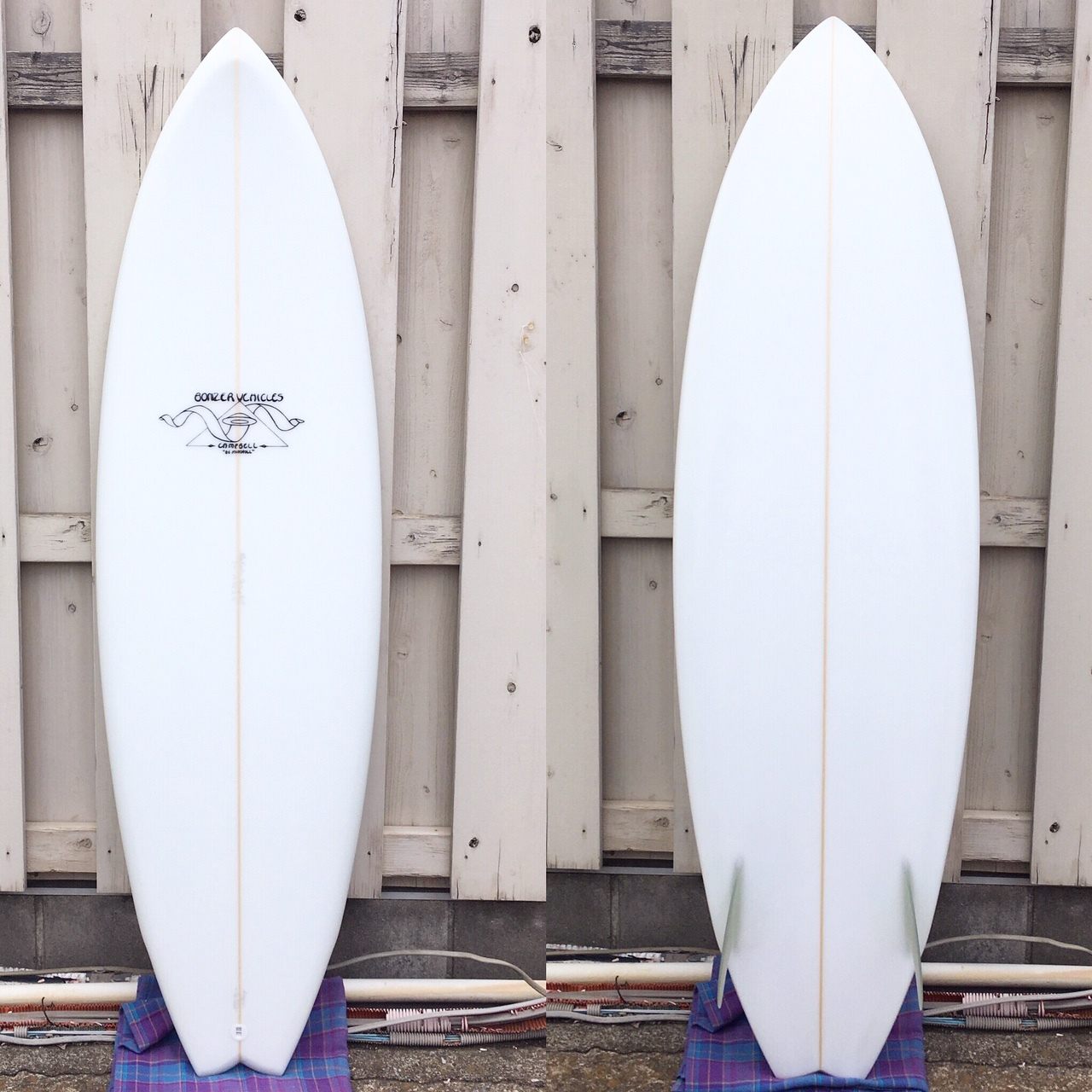 """Campbell Brothers Surfboards """"Alpha Omega"""" 5'11"""""""