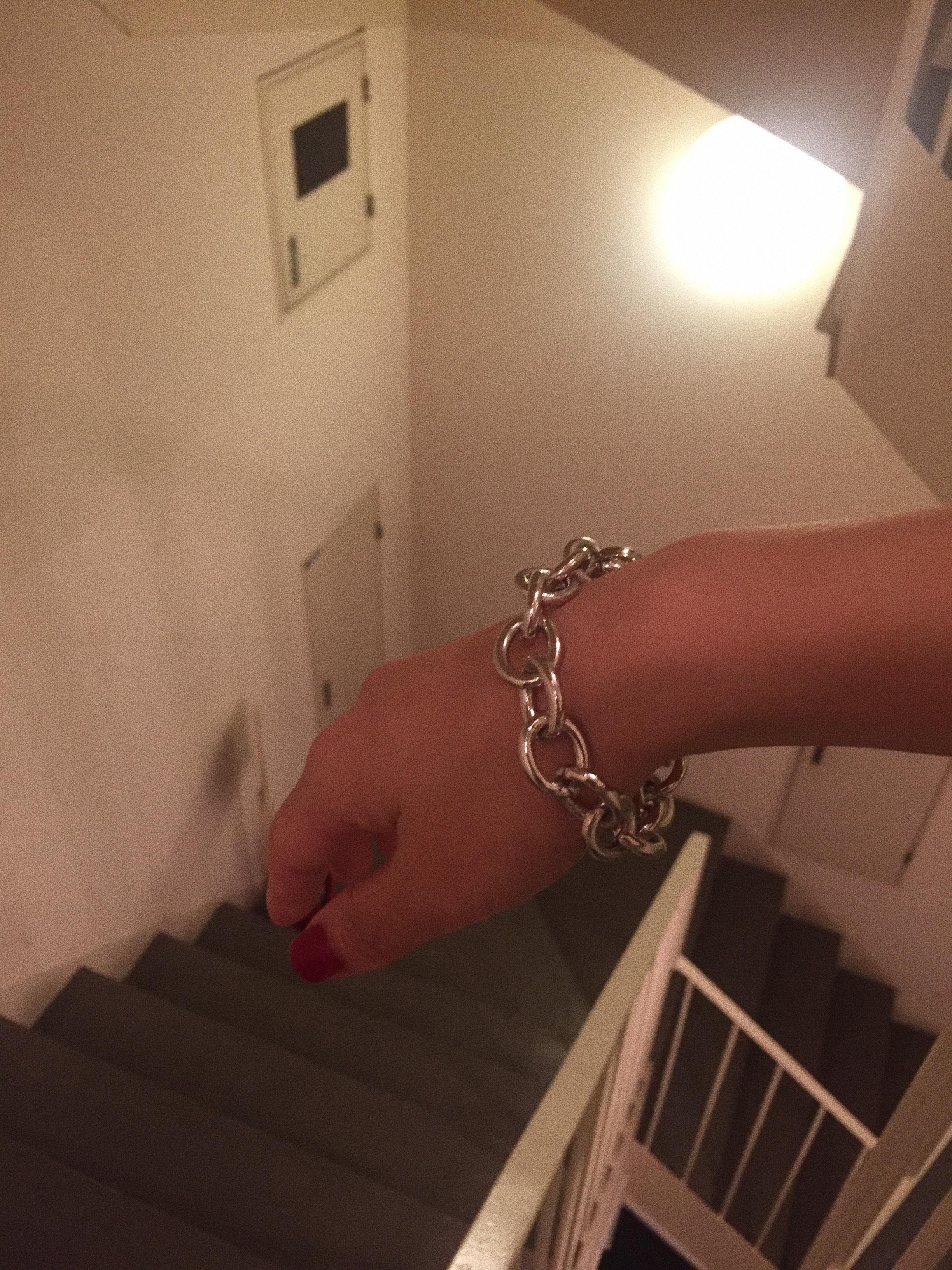 CHAIN bracelet #18063 チェーンブレスレット/シルバー