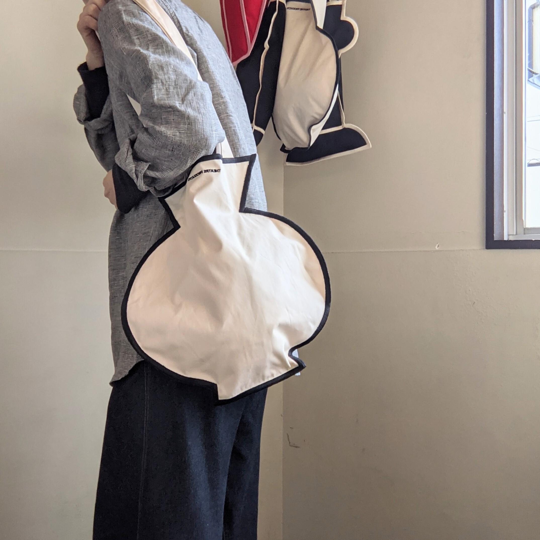 ☆last1☆【 THEATRE PRODUCTS 】シアタープロダクツ / flowerbase shoulderbag / ショルダーバッグ / ivory
