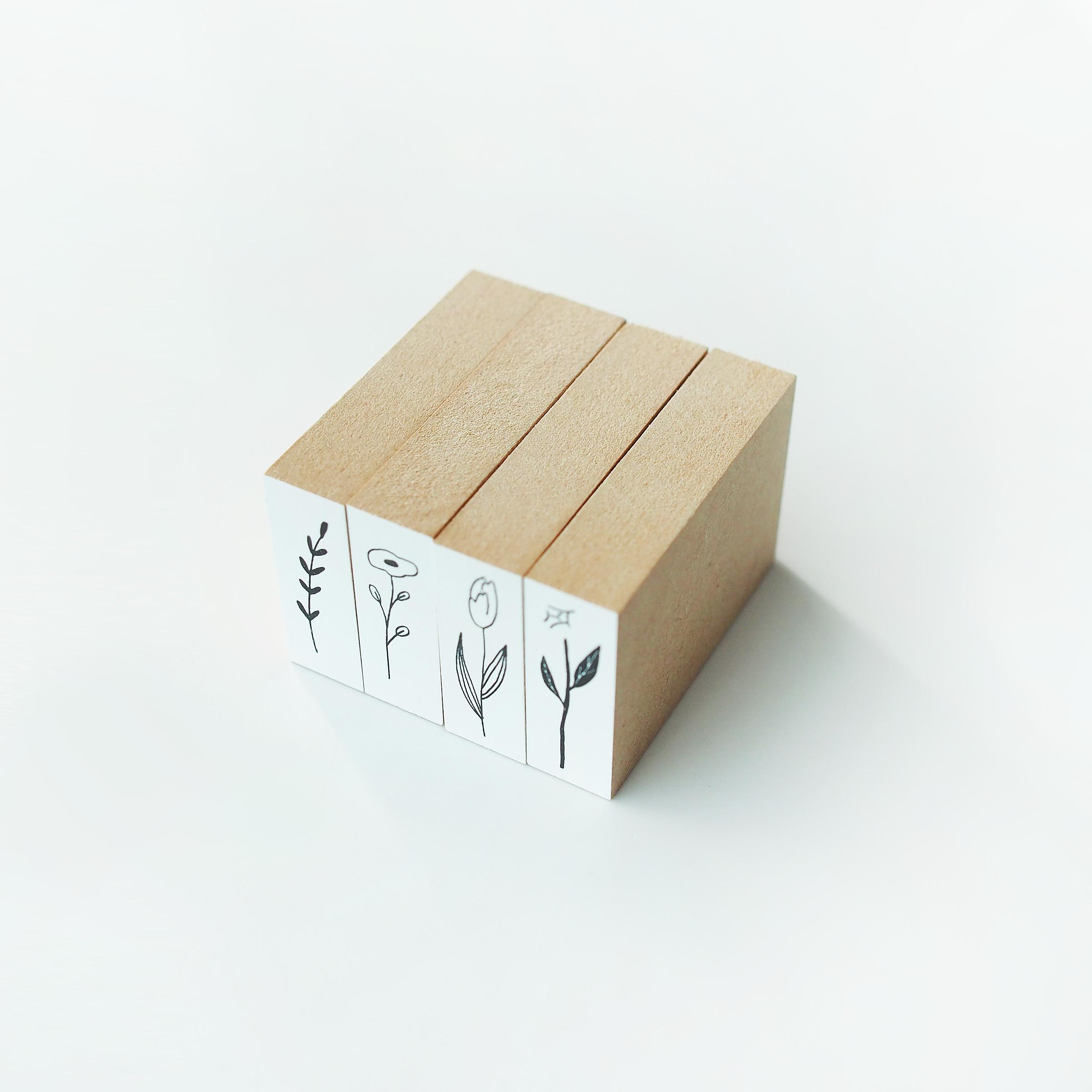 【M】POCONUR STAMP(ポコヌルスタンプ)|花と草