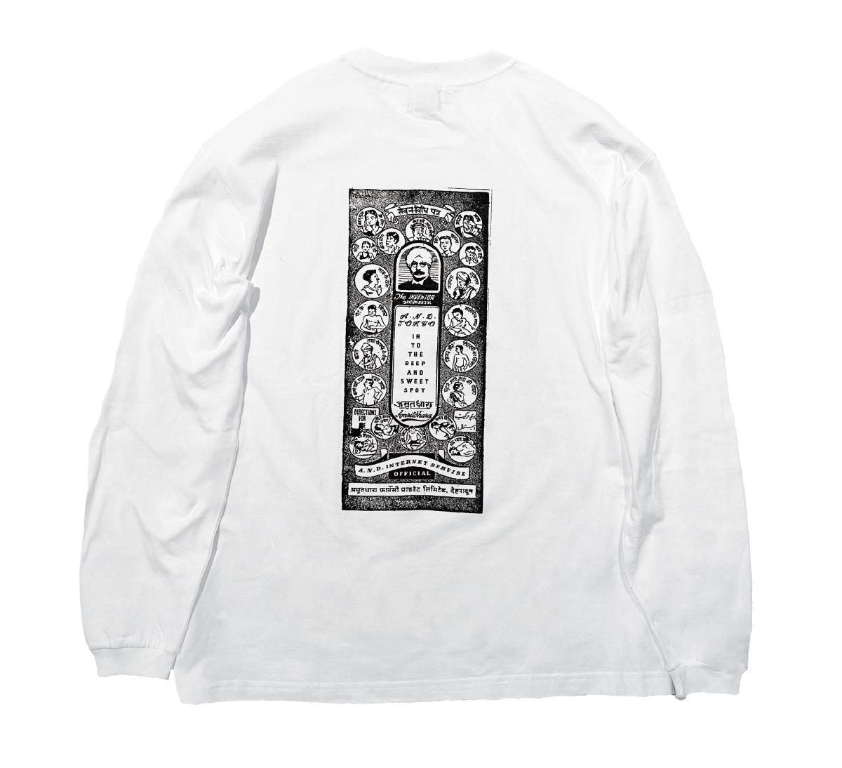 """A.N.D.2021 L/S T Shirts  """"Medicine"""""""