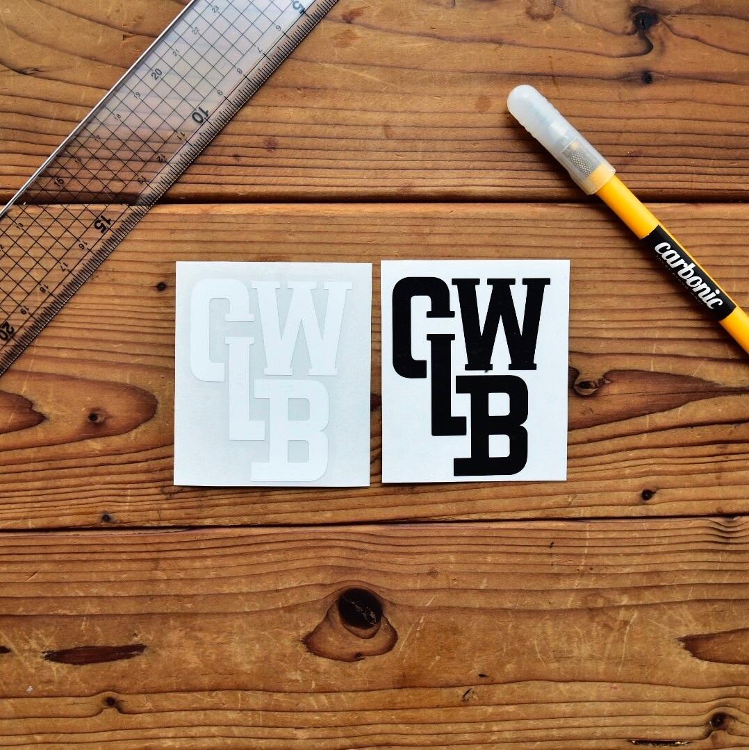 carbonic CLBW cutting sticker (M)