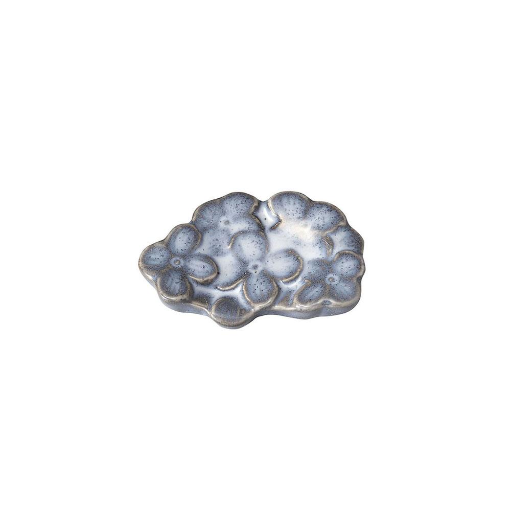 「リアン Lien」カトラリーレスト 箸置き グレー 美濃焼 267817