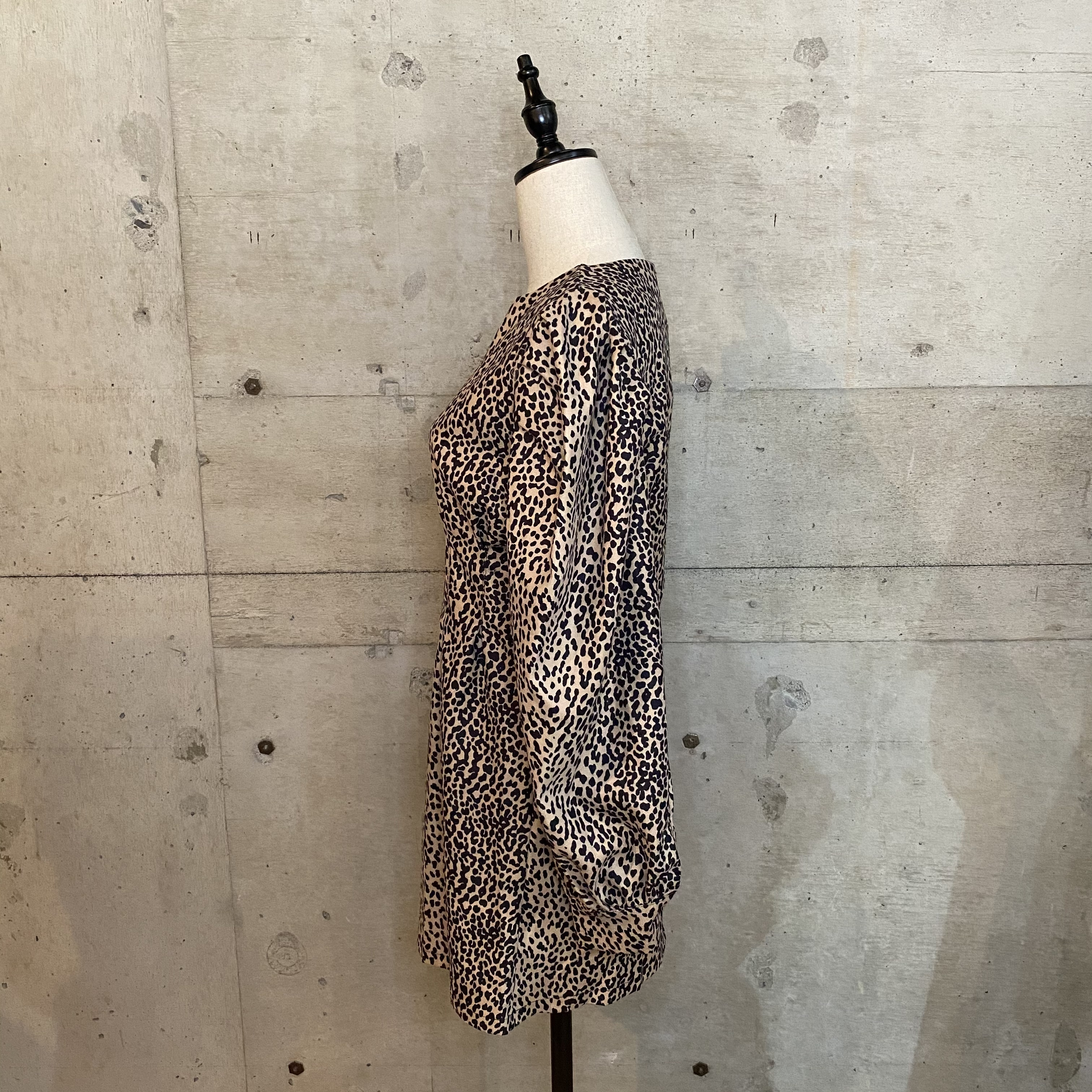 【Belle】leopard mini onepiece