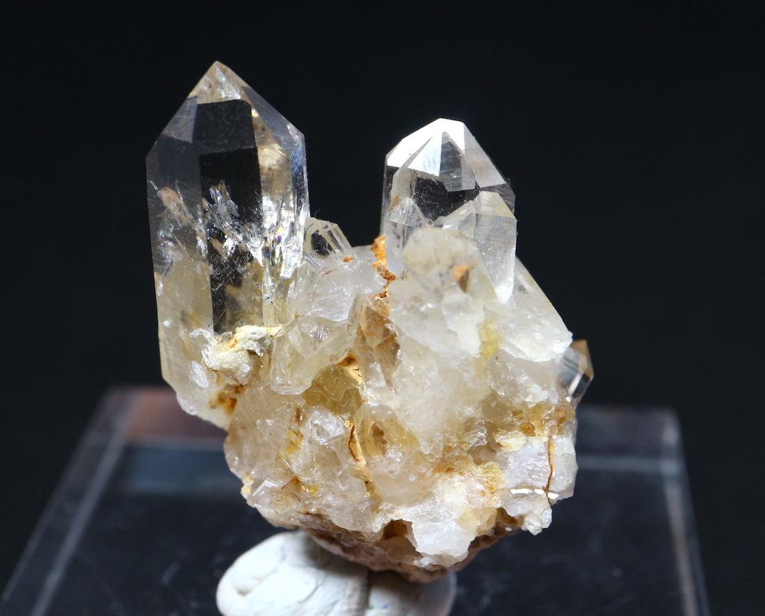 カリフォルニ産 水晶 クオーツ 結晶 クリスタル QZ022  8,9g 鉱物 原石 天然石 パワーストーン