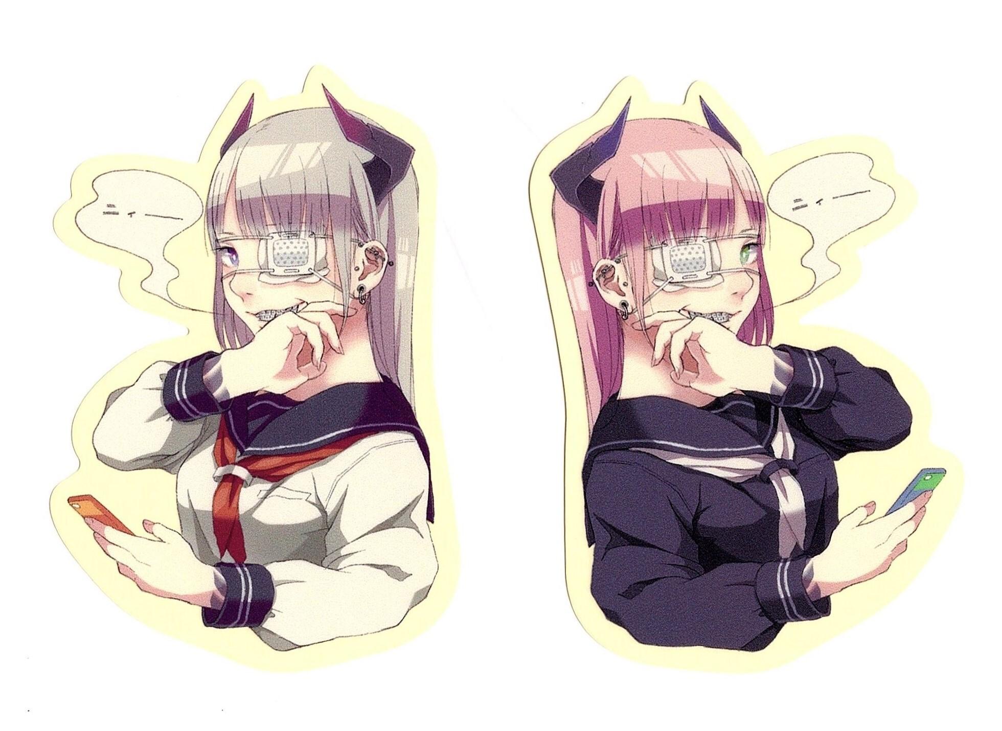 きりさき / ステッカー(2種類)
