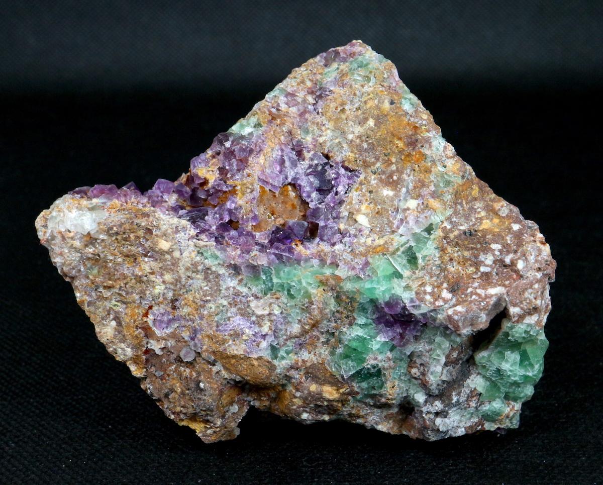 カリフォルニア産 フローライト 蛍石 原石 455g  FL044 鉱物 天然石 パワーストーン