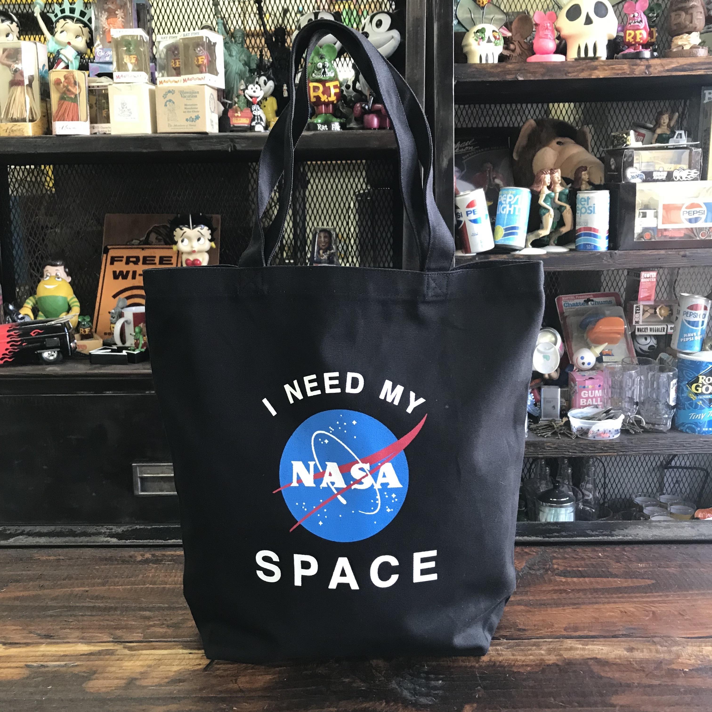 NASA公認トートバッグ・インサイニア(ミートボール)・ブラック