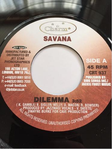 Savana (サバナ) - Dilemma【7'】