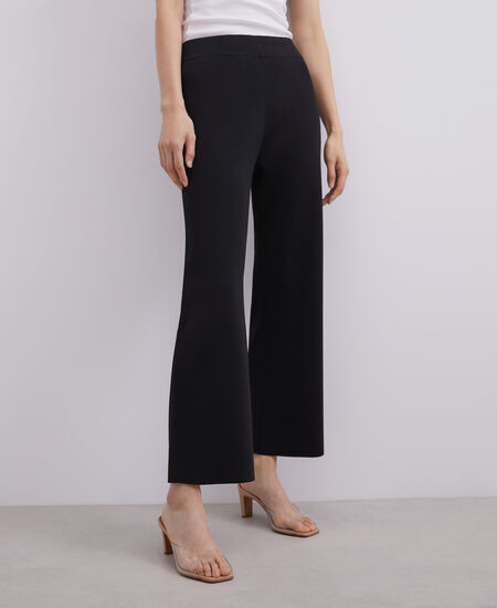RIB KNITTED TROUSERS [269072962202]