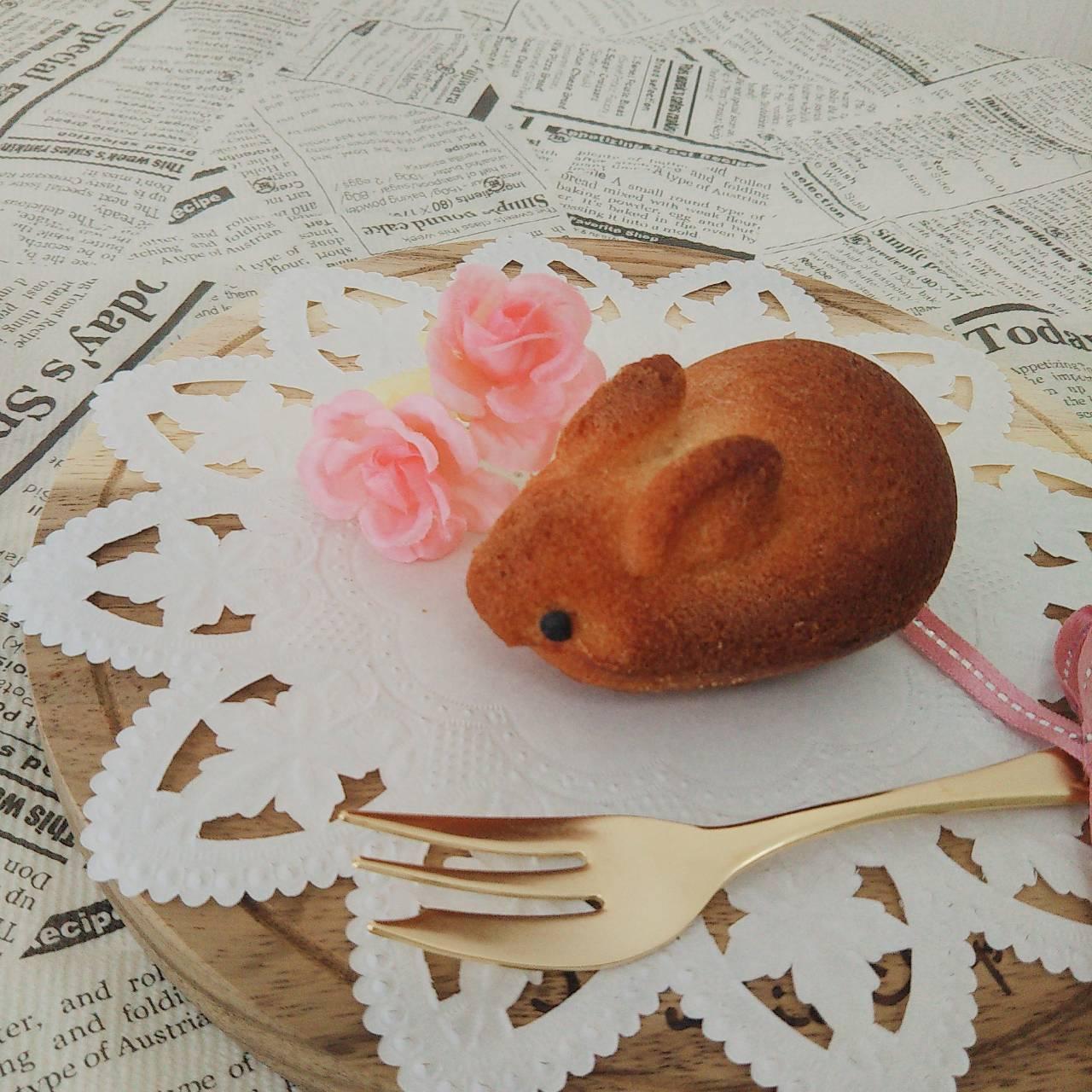 【月~金曜日発送】焼きうさぎ3羽セット(焼き菓子/フィナンシェ/お菓子ギフト)