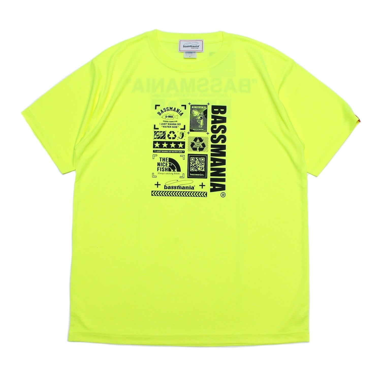 Neo graphic dry  Tシャツ  [N.YEL]