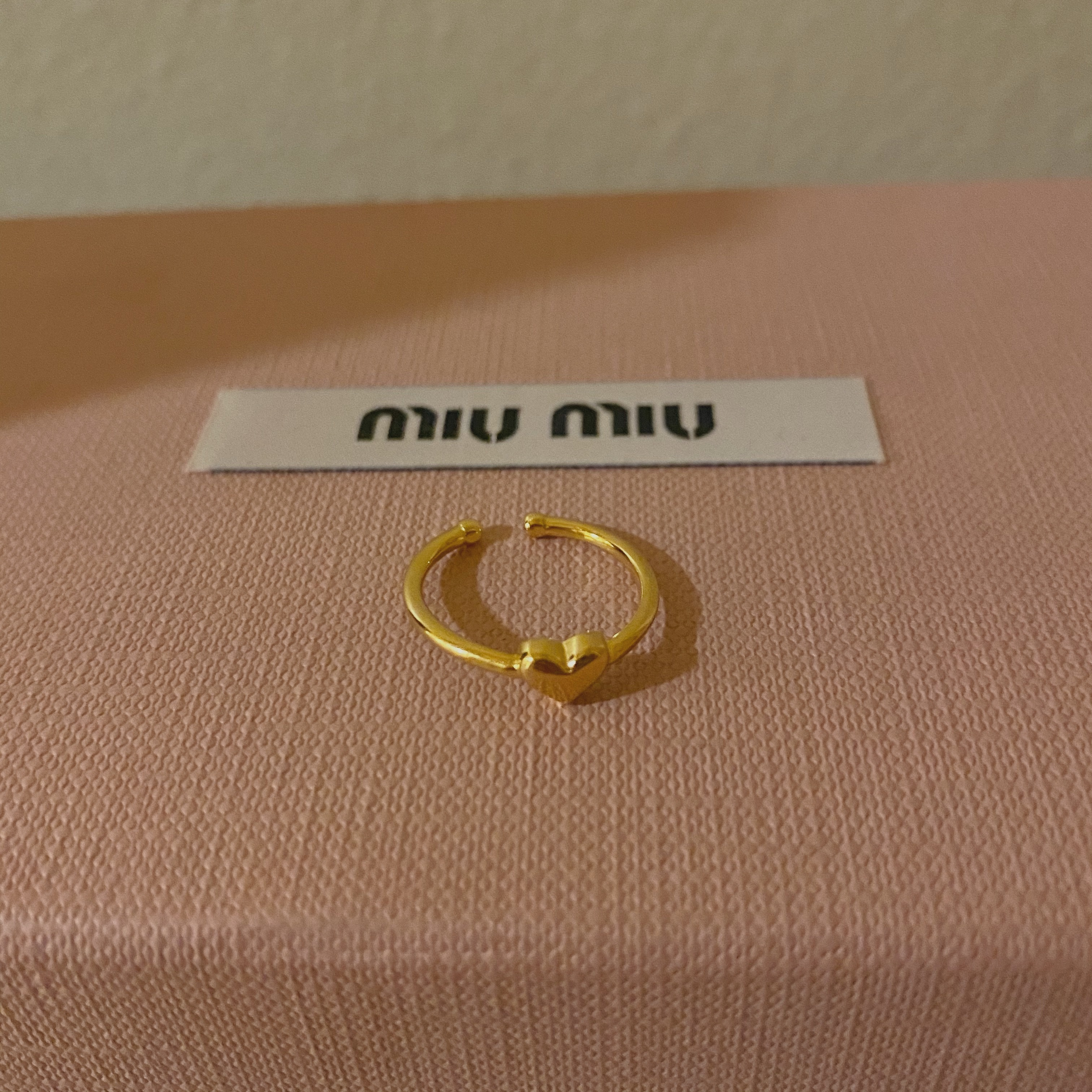 DAYNYC Point heart ring (silver 925)