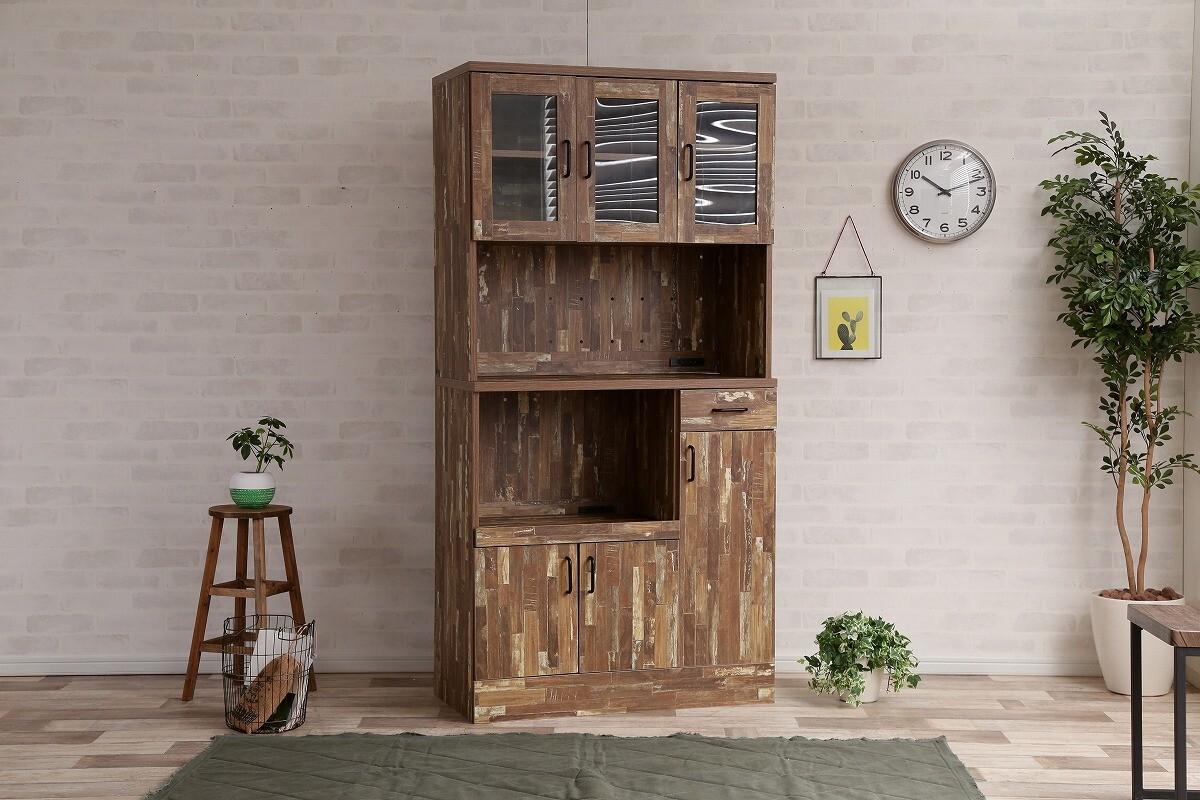 CAVA Kitchen shelf / 西海岸ヴィンテージスタイル カヴァ キッチンシェルフ