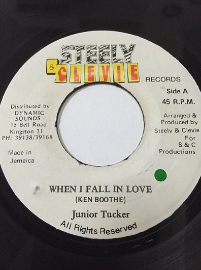 Junior Tucker(ジュニアタッカー) - When I Fall In Love【7'】