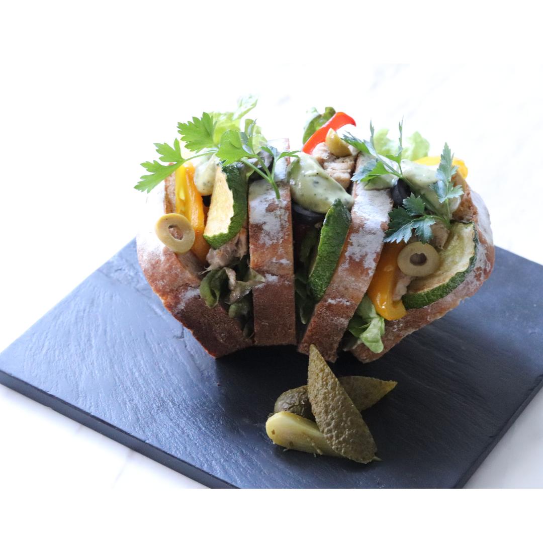 【事前予約販売】オンラインランチに!特製サンドイッチセット