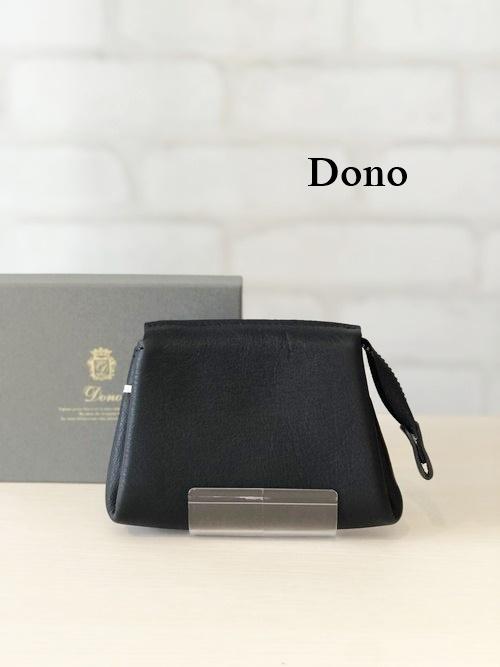 Dono(ドーノ)/ポーチウォレットM/01116(ブラック)