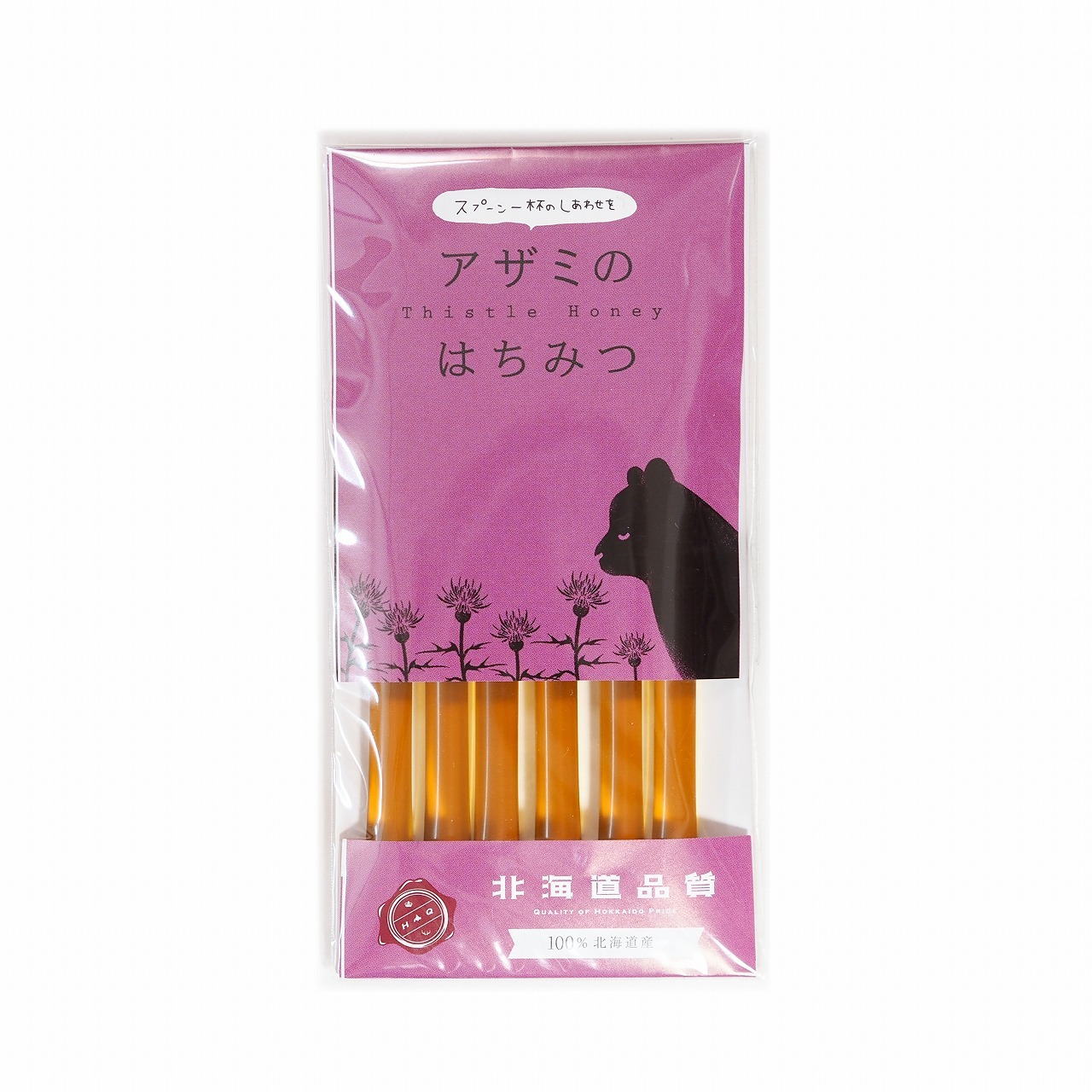 BEEDO スティック蜂蜜 2.5g×6本 アザミ