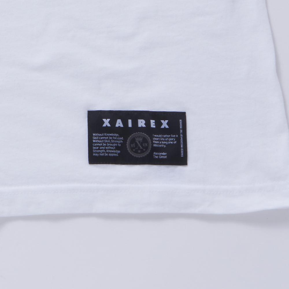 """XAIREX LOGO TEE """"WHITE"""" [XAI-01]"""