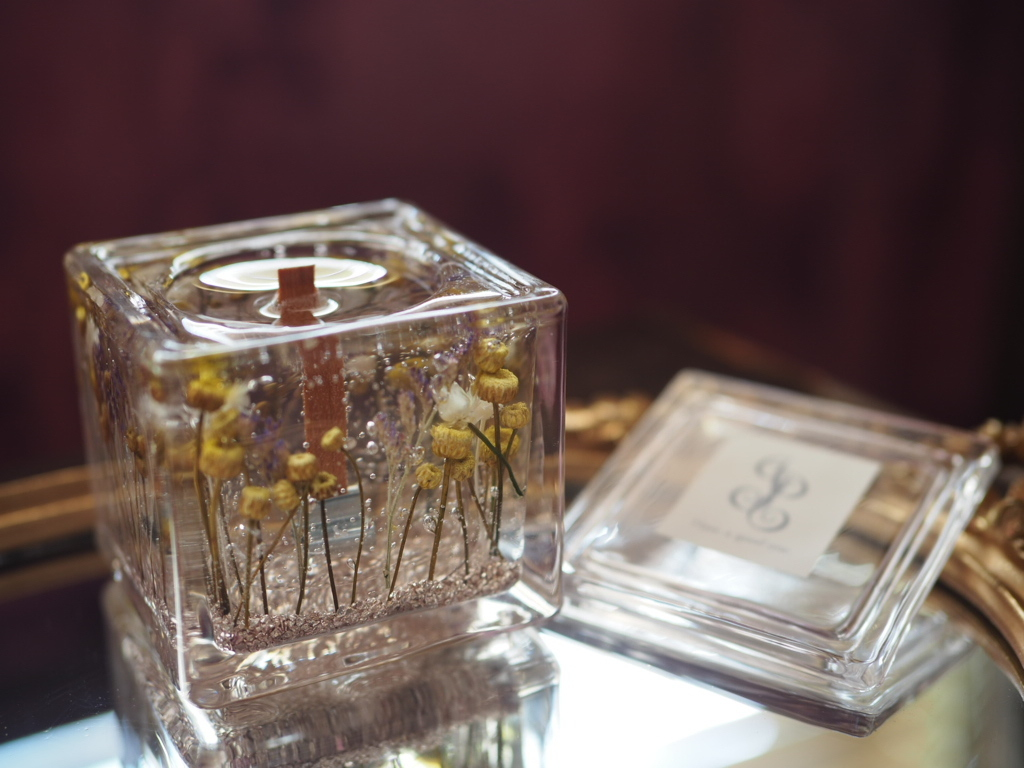 Flower aroma candle 4