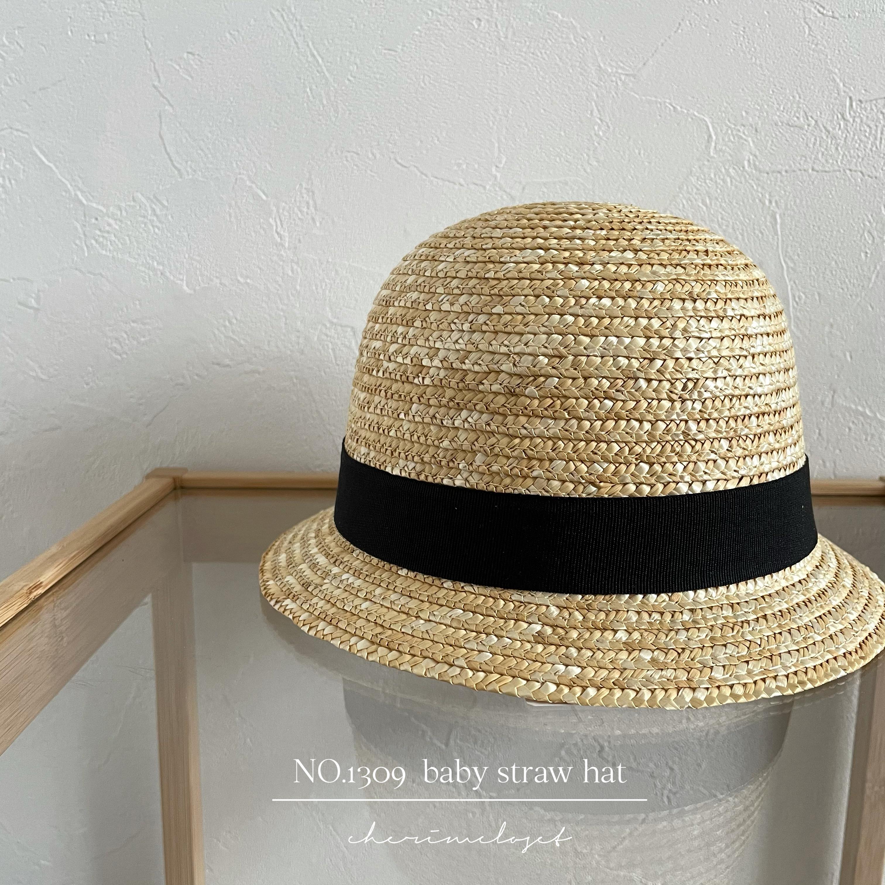 NO.1309  baby straw hat