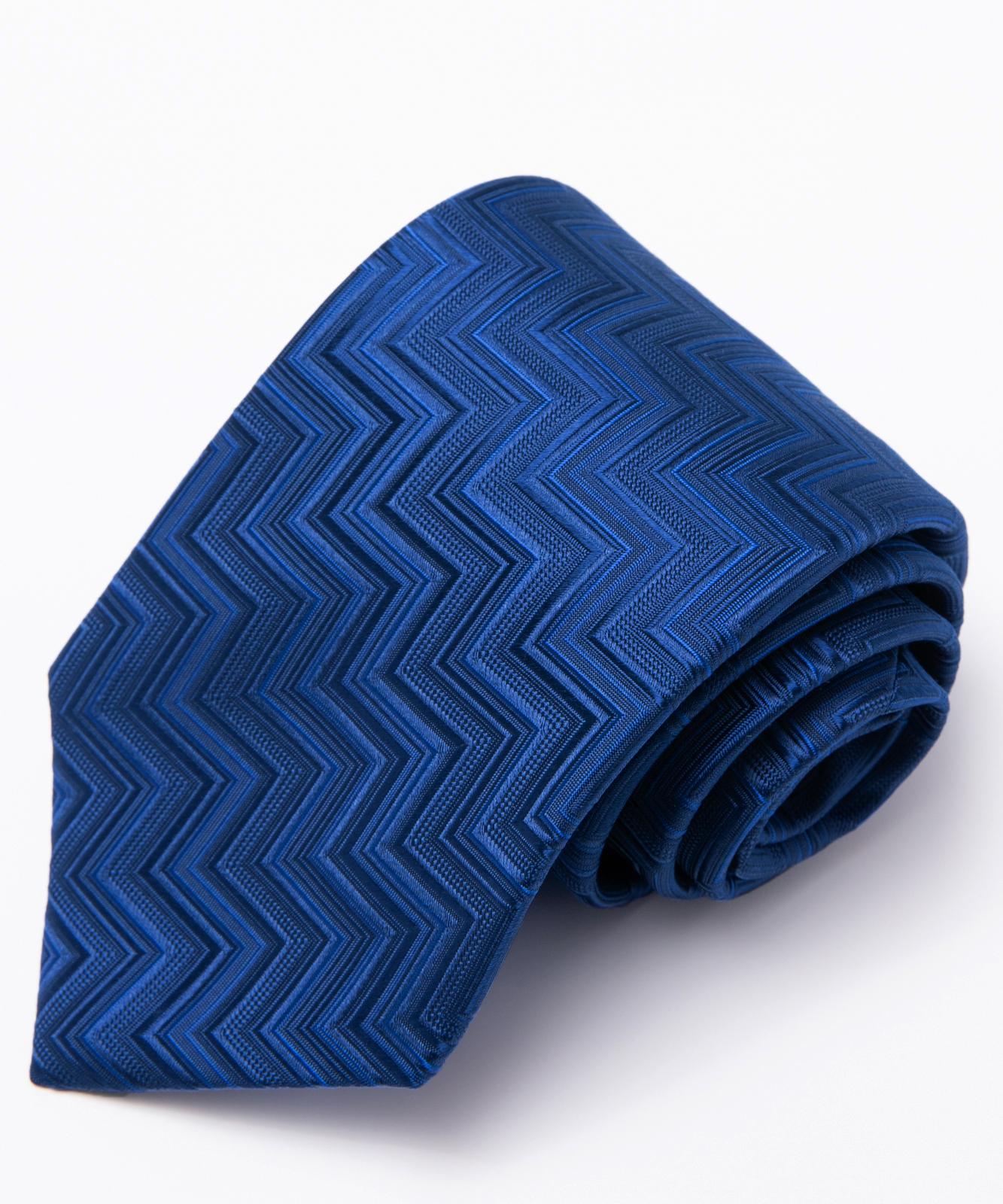 AZZURRO(アズーロ)ジオメトリックヘリンボーン:ブルー