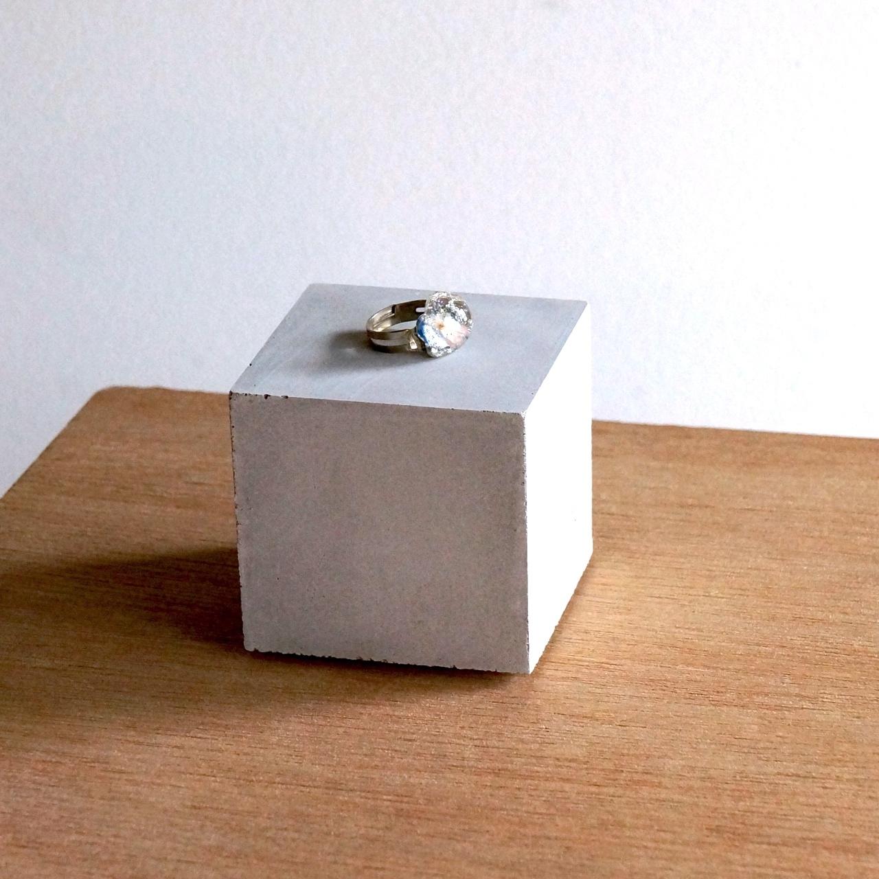 セメント6cmキューブ / ディスプレイ、ペーパーウェイト用