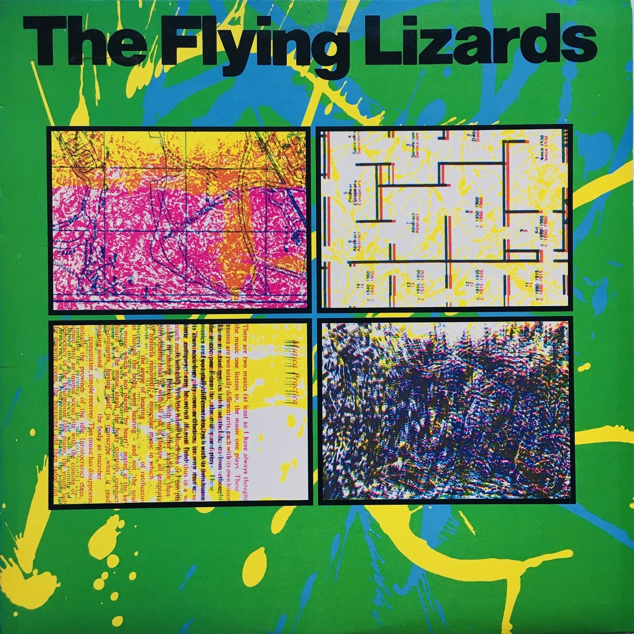 【LP・米盤】The Flying Lizards / The Flying Lizards