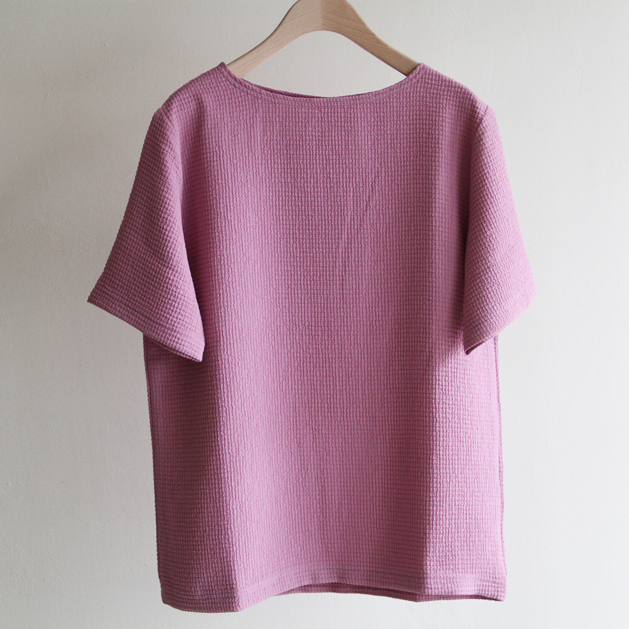 PHEENY【 womens 】double wave dobby pullover