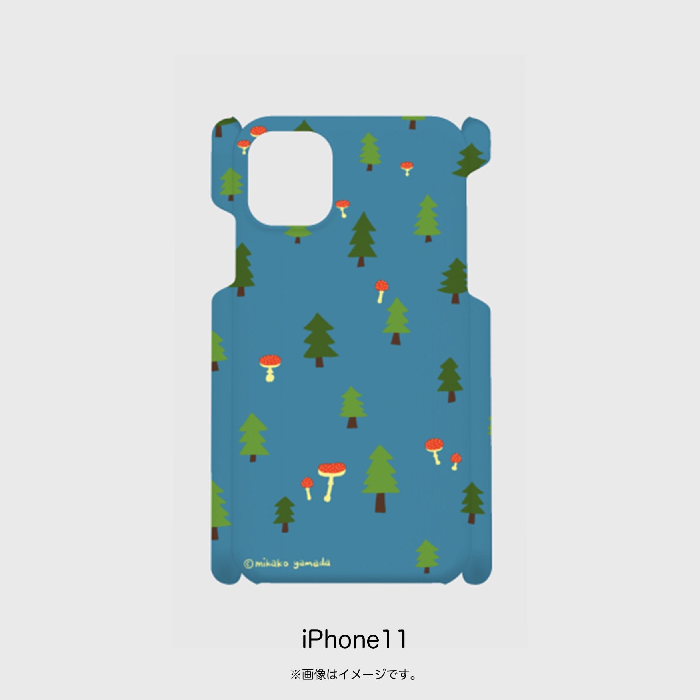 iPhoneケース『きのこ森』受注生産・送料込