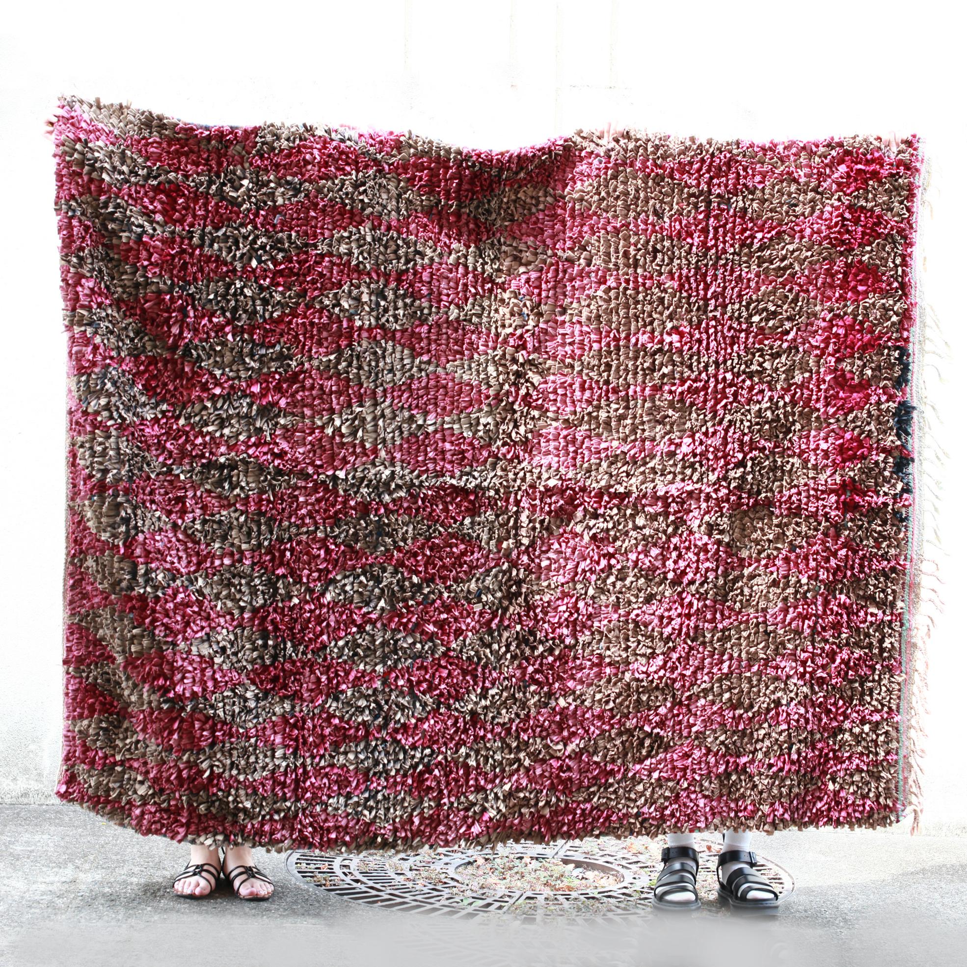 ヴィンテージラグ【6】(ボシャルウィットラグ・モロッコ絨毯・マット・絨毯)