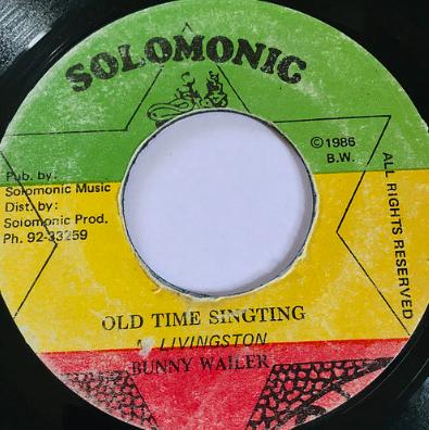 Bunny Wailer(バニーウェイラー) - Old Time Sing Ting【7'】