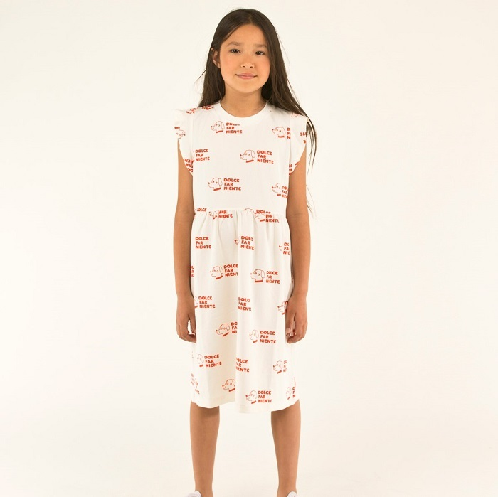 Tinycottons DOGS dress (2Y)