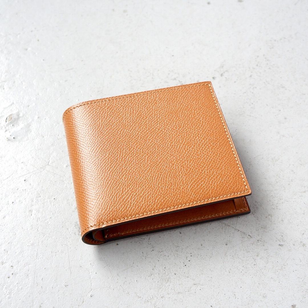 二つ折財布 <Regulus> キャラメル