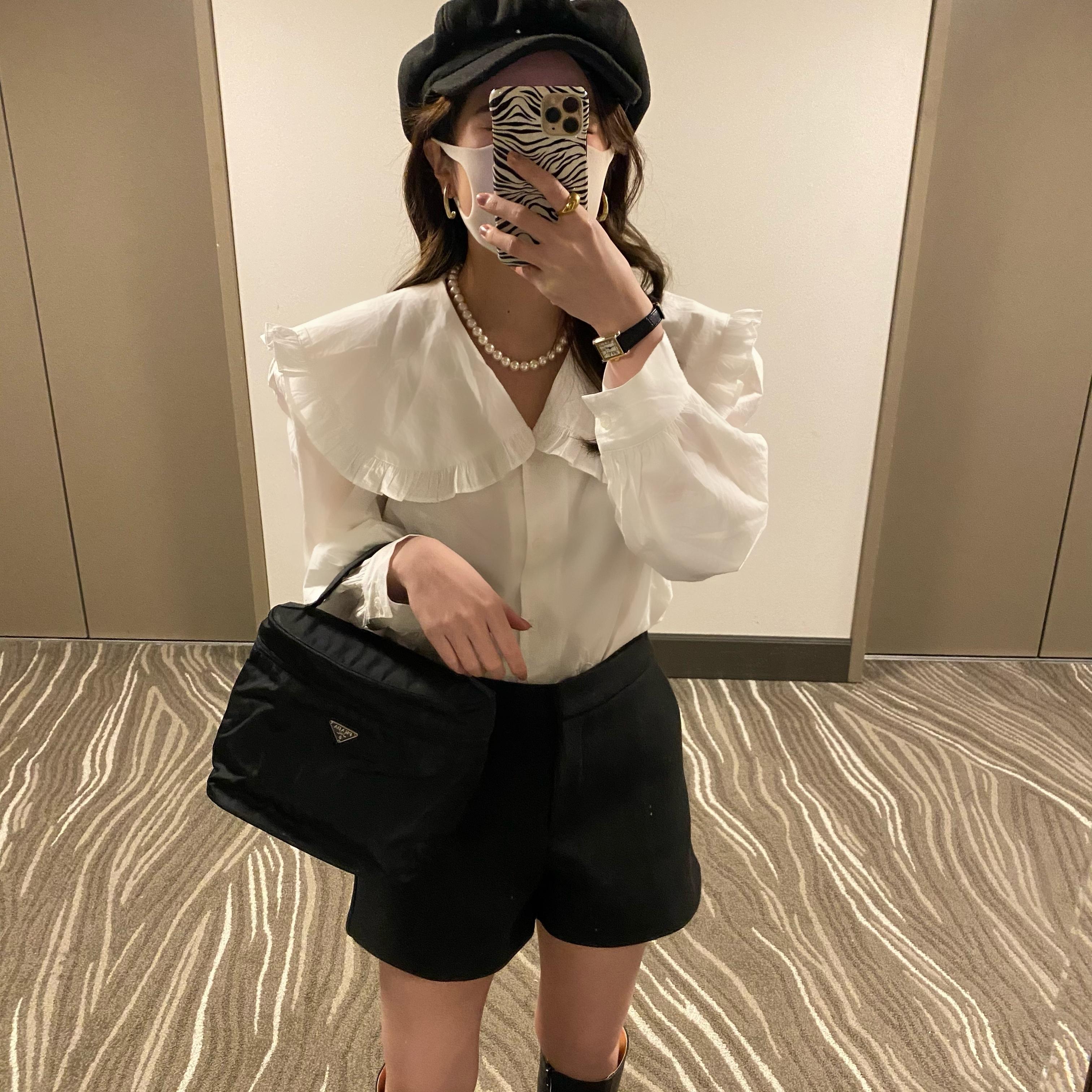 DAYNYC frill blouse