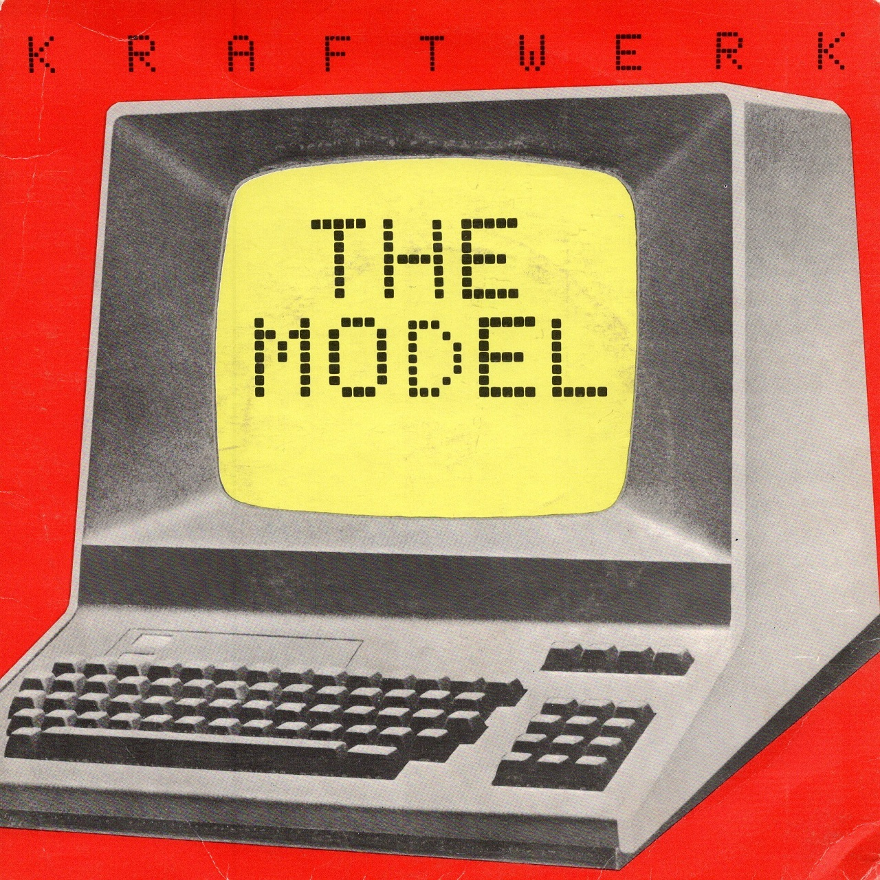 【7inch・英盤】Kraftwerk / The Model , Computer Love