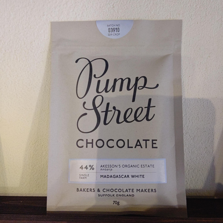 【Pump Street bakery CHOCOLATE/パンプストリートチョコレート】44%マダガスカルホワイト