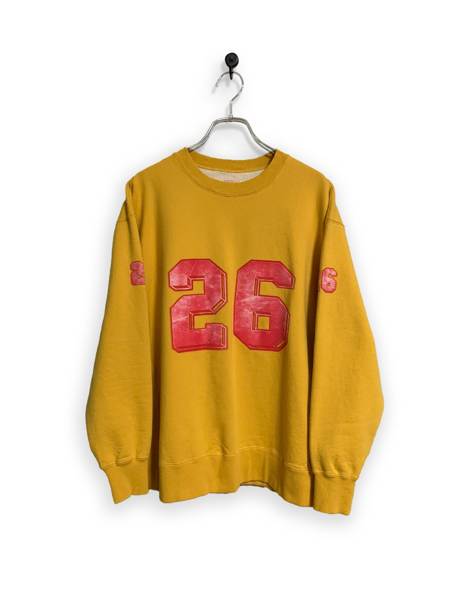 "Original Sweatshirt / ""jiro"" / yellow"
